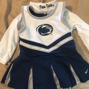 Size 18 Months Penn State Cheerleader Outfit